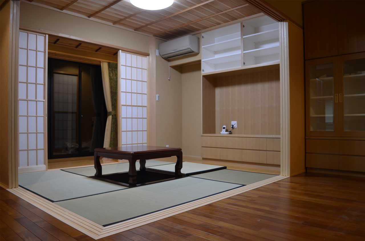 木造建築の和室